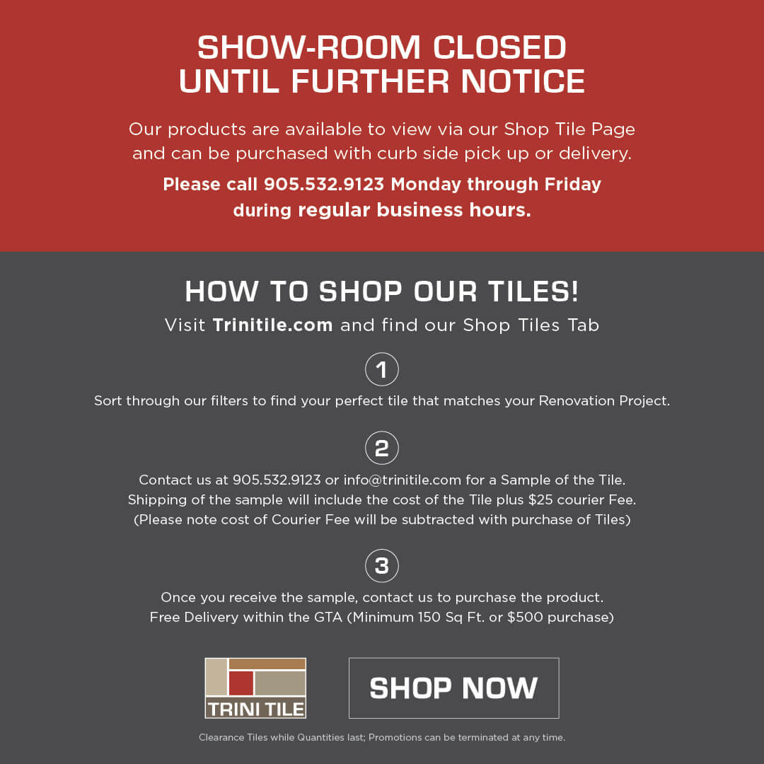 Showroom Closed
