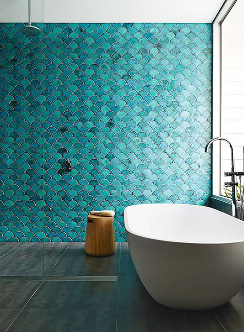 Mermaid Pattern Tile