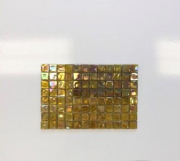 SD-91 Square Gold Glass
