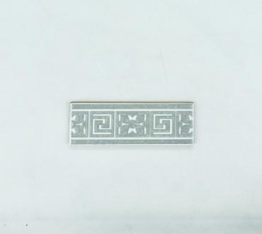 Bianco Spino Listello 2.5x8