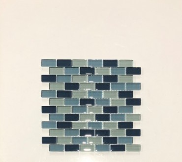 Mosaic (Inter) Artic Blend Glossy 1x2