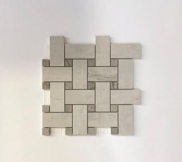 Mosaic Gotha Lux (Diamond Intreccio Platinum)