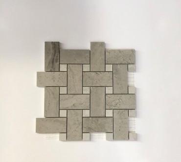 Mosaic Gotha Lux (Platinum Intreccio Diamond)