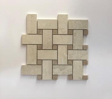 Mosaic Gotha Lux (Quartz Intreccio Gold)