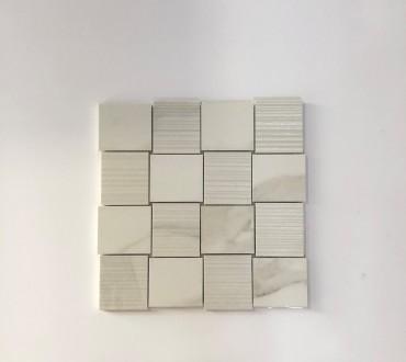 Mosaic Purity Lux (Calacatta Intreccio)