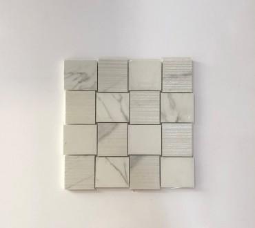 Mosaic Purity Lux (Statuario Intreccio )