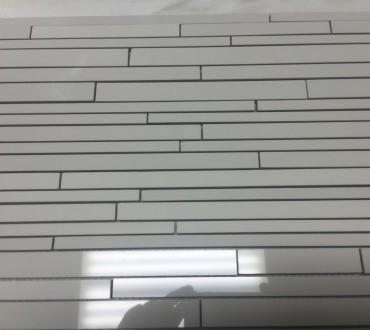Mosaic Side JX White 6.5x24
