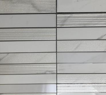 Mosaics Purity Statuario Brick