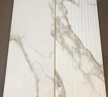 "Purity Calacatta Lux & Purity Calacatta Wall ""STR Fluid"" Glossy"