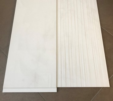 """Purity Pure White Lux & Purity Pure White Wall """"STR Fluid"""" Glossy"""