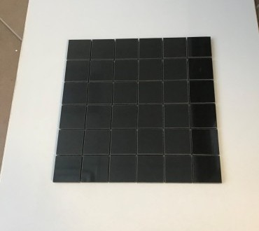 S.S. Black Polished Mosaic