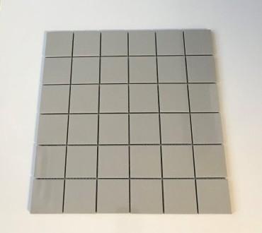 S.S Grey Polished Mosaic