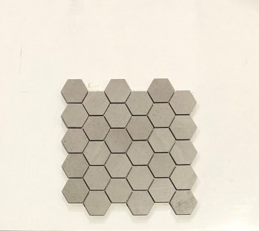 Stone Collection Lte.Grey Mosaic Hex