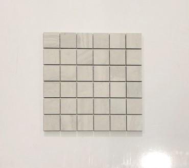 Travertino Momento Bianco Matte Mosaic