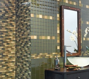 Bathroom Glass Tiles