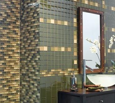 Bathroom Glass Tiles