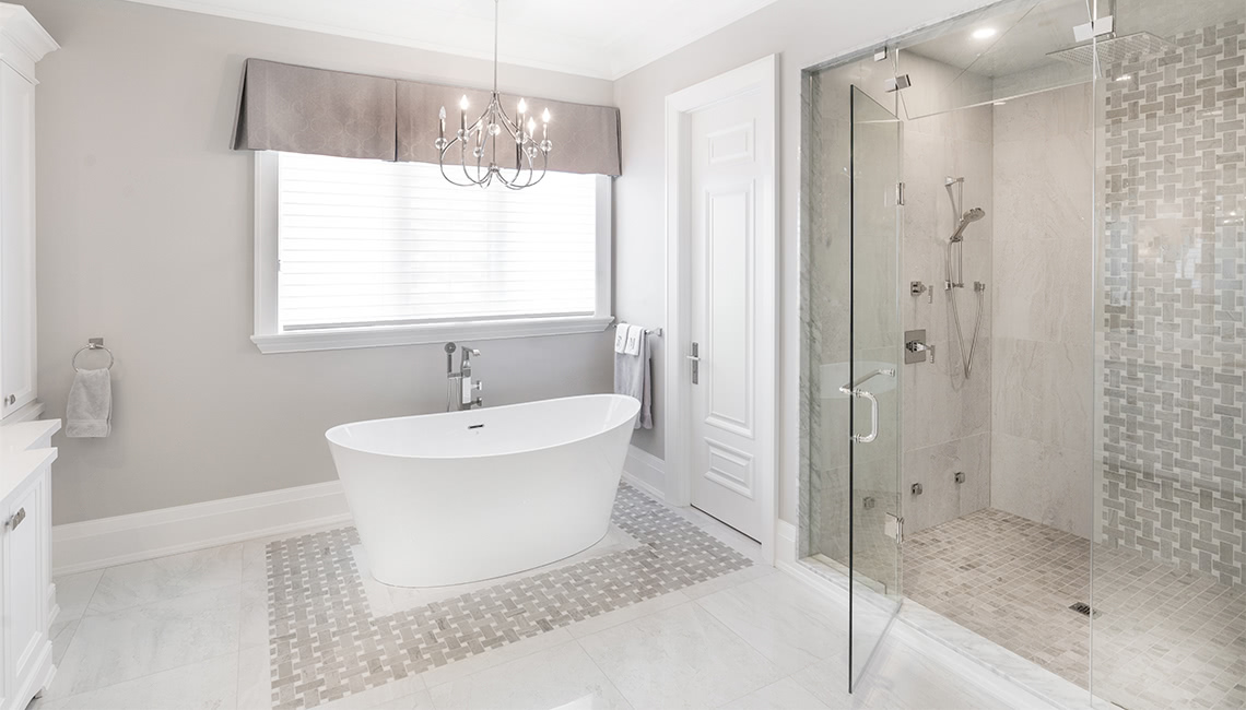 Shower Floor and Wall Tiles